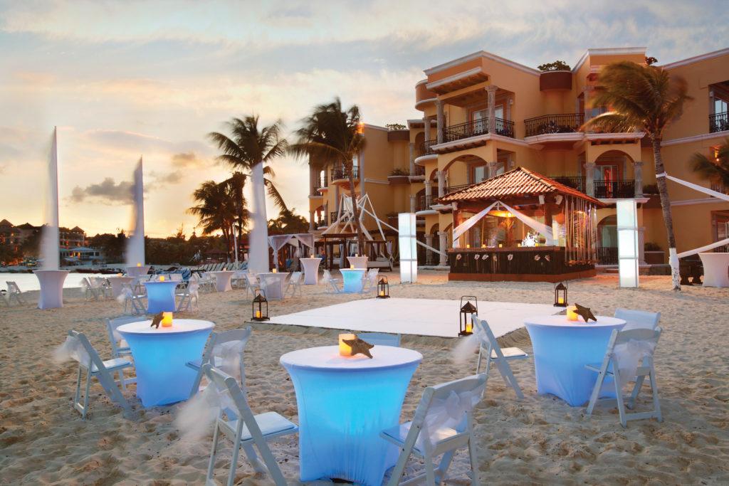 Gran-Porto-Playa-Del-Carmen-Beach-Setup