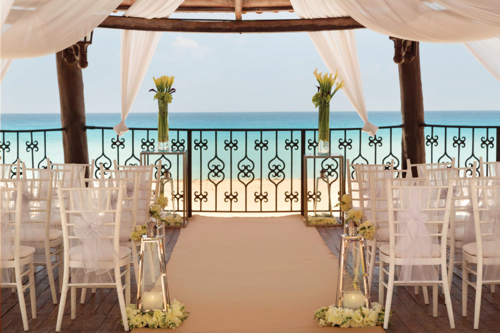 Hyatt-Zilara-Cancun-Wedding-Gazebo-Deatiled